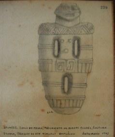 MNCR 14582 dibujo registro copia