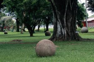 Esferas parque Palmar sur