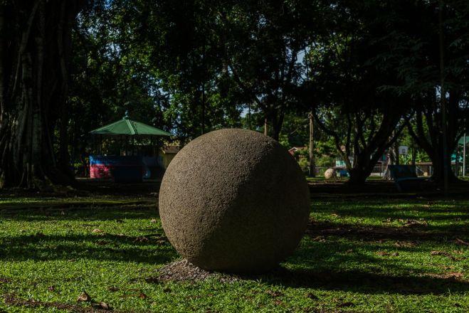 Esfera parque Palmar Sur