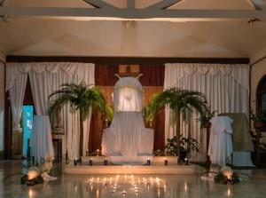 Iglesia catolica Palmar Sur adentro