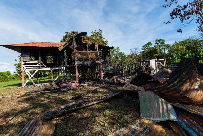 Casa quemada Finca 4 2