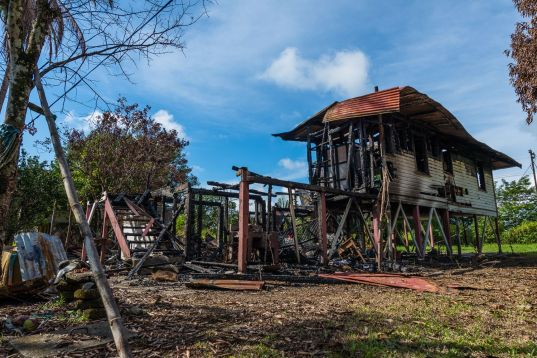 Casa quemada Finca 4