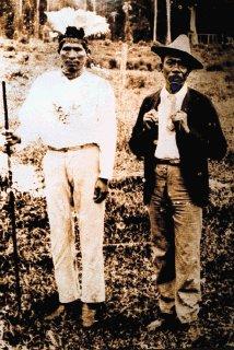 Antonio Saldaña (izquierda) fue rey de Talamanca por 30 años.