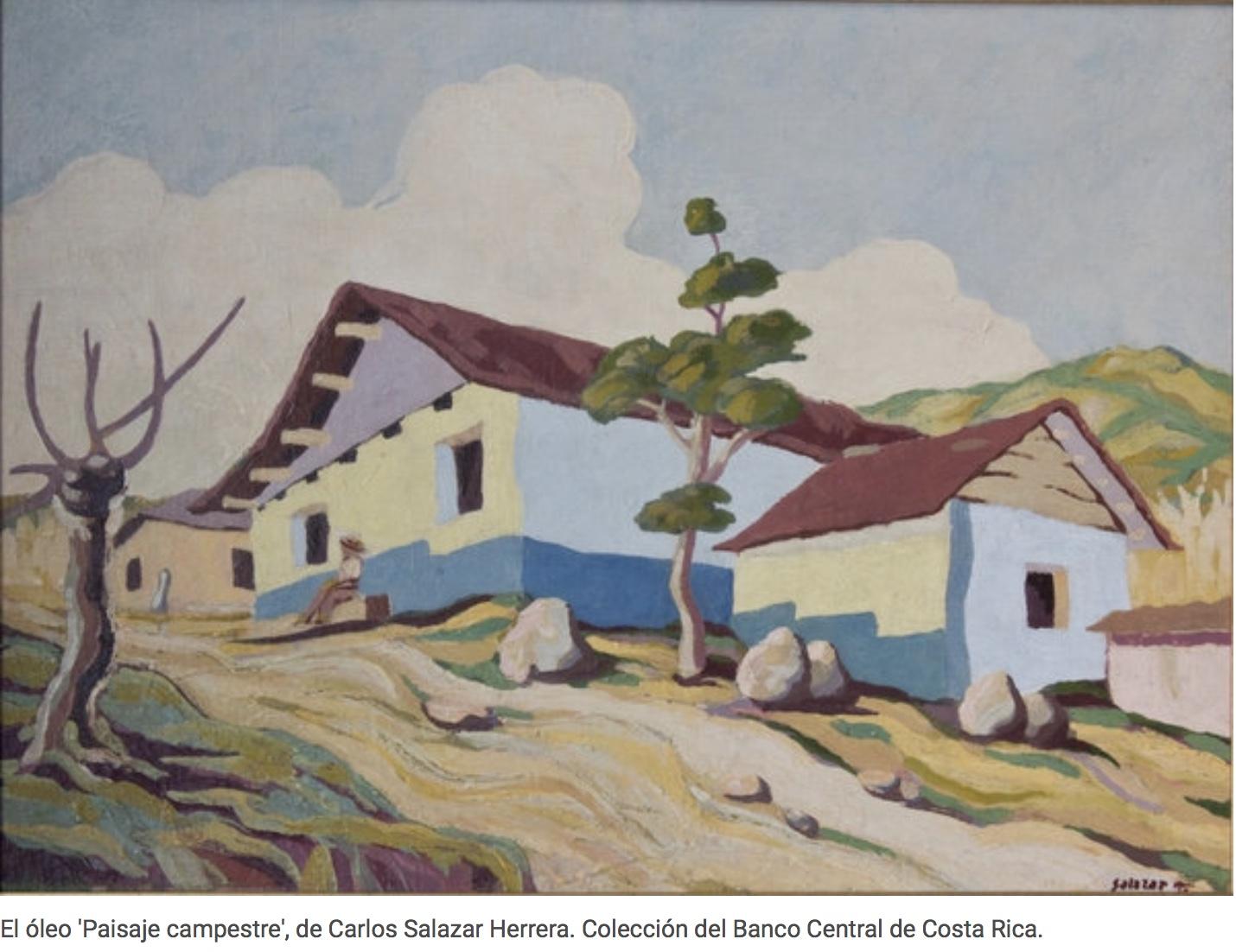 paisaje campestre Salazar Herrera